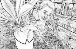 สร้างภาพ Sketch