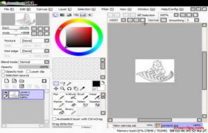 โปรแกรมสร้างภาพวาด SAI