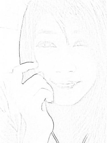 สร้างการ์ตูน Photo to Sketch